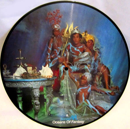 LP - Boney M. Oceans Of Fantasy