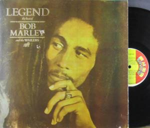 LP - Marley, Bob and the Wailers Legend