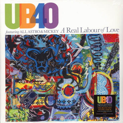 2LP - UB40 feat. Ali, Astro & Mickey A Real Labour Of Love