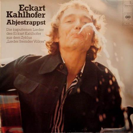 LP - Kahlhofer, Eckart Abjestrappst