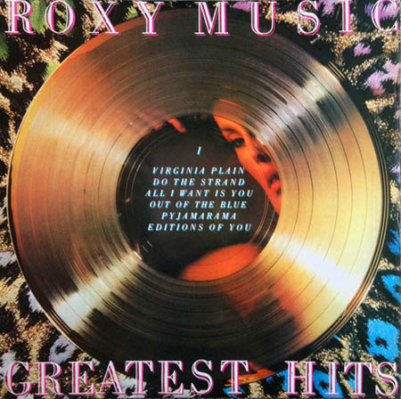 LP - Roxy Music Greatest Hits