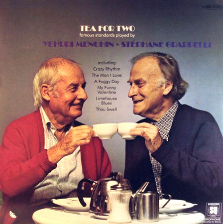 LP - Grappelli, Stephane & Yehudi Menuhin Tea For Two