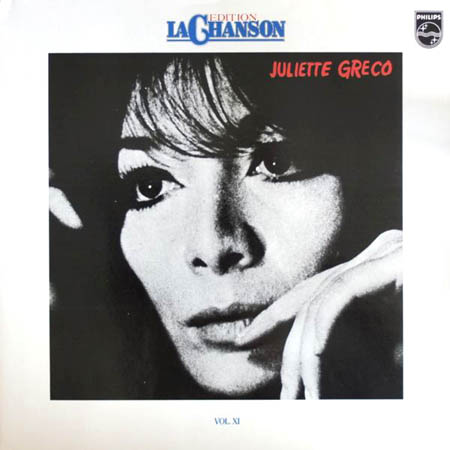 LP - Greco, Juliette Edition La Chanson Vol. XI