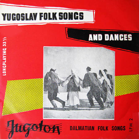 10inch - Various Artists Dalmatian Folk Songs