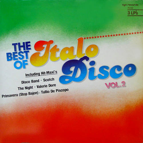 3LP - Various Artists The Best Of Italo Disco Vol. 2
