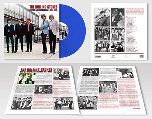 LP - Rolling Stones British Radio Broadcasts 1963-1965