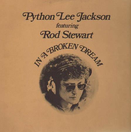 LP - Python Lee Jackson Featuring Rod Stewart In A Broken Dream