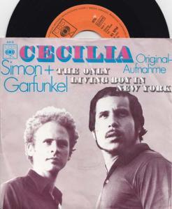 7inch - Simon & Garfunkel Cecilia
