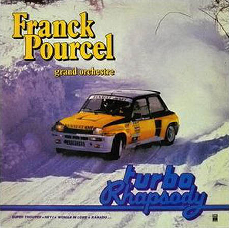 LP - Pourcel, Franck Grand Orchestre Turbo Rhapsody