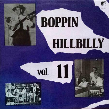 LP - Various Artists Boppin' Hillbilly Vol. 11