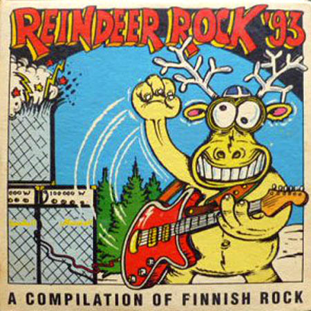 2CD - Various Artists Reindeer Rock '93 - A Compilation Of Finnish Rock