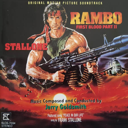 CD - Soundtrack Rambo: First Blood Part II