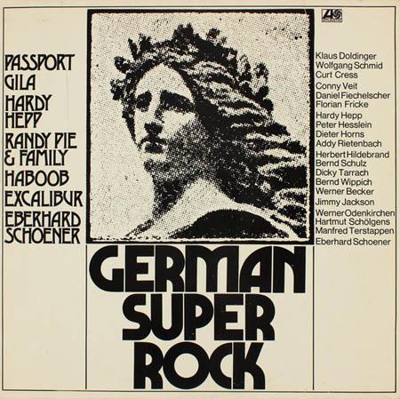 LP - Various Artists German Super Rock