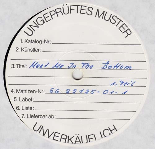 LP - Rainer Baumann Band Meet Me In The Bottom