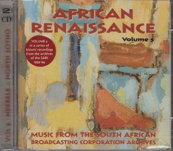 2CD - Various Artists African Renaissance: Vol. 5: Ndebele & North Sotho