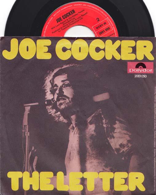 7inch - Cocker, Joe The Letter