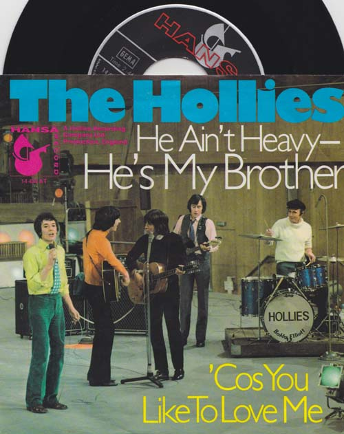 7inch - Hollies, The He Ain't Heavy - He's My Brother