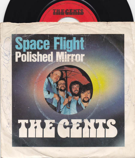 7inch - Gents, The Space Flight / Polished Mirror