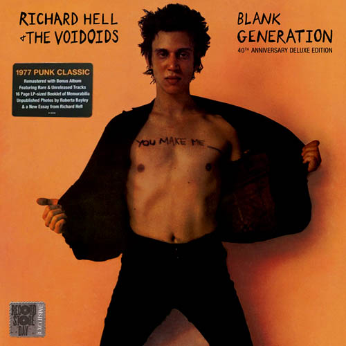 2LP - Hell, Richard & The Voidoids Blank Generation - Deluxe Edition