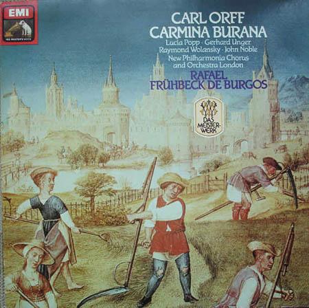 LP - Orff, Carl Carmina Burana