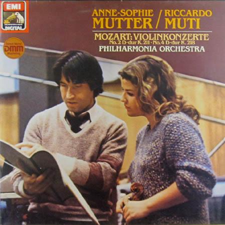 LP - Mozart, Wolfgang Amadeus Violinkonzerte No.2 D-dur K.211 / No.4 D-dur K.218