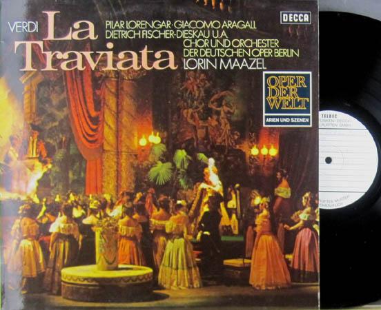 2LP - Verdi, Giuseppe La Traviata