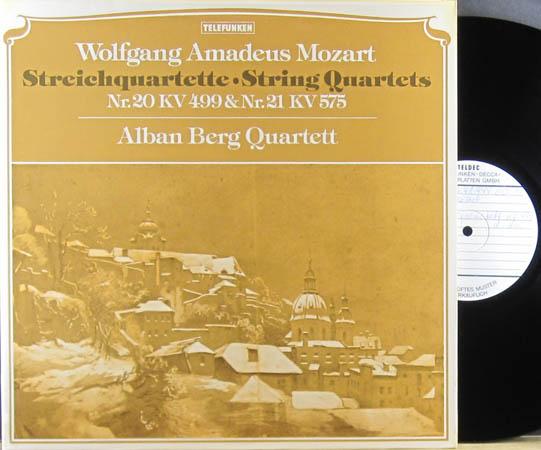 2LP - Mozart, Wolfgang Amadeus Streichquartette - String Quartets Nr.20 KV 499 & Nr.21 KV 575