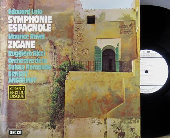 2LP - Lalo, Edouard / Maurice Ravel Symphonie Espagnole / Tzigane