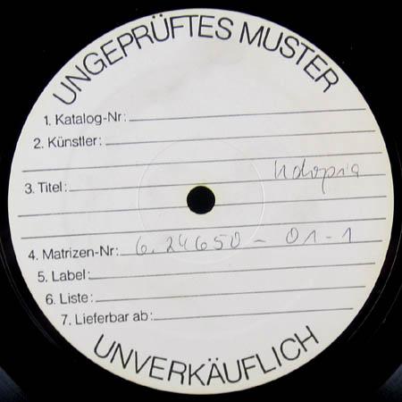 LP - Lindenberg, Udo Udopia