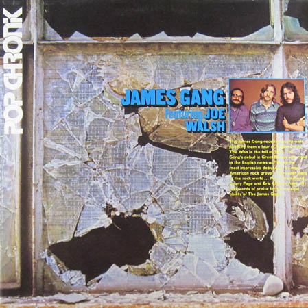 2LP - James Gang Featuring Joe Walsh Pop Chronik