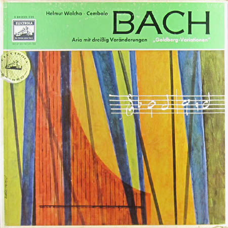 2LP - Walcha, Helmut Bach - Goldberg-Variationen