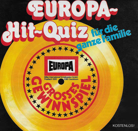 5inch - Commercial Europa Hit-Quiz
