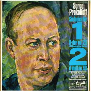 "LP - Prokofieff, Serge Sinfonie Nr. 1 D-Dur Op.25 ""Klassische"" / Sinfonie Nr. 2 D-moll Op. 40"