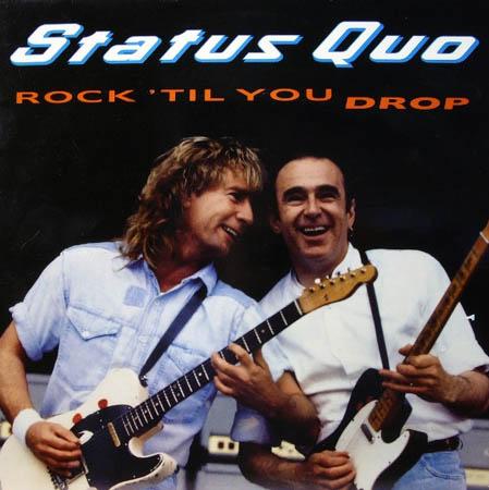 LP - Status Quo Rock 'Til You Drop