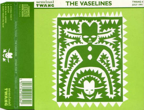 CD:Single - Vaselines, The Dying For It