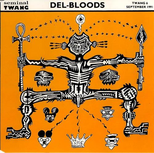 CD:Single - Del-Bloods Black Rabbit / Rose