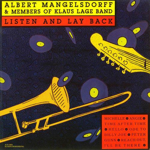 LP - Mangelsdorff, Albert & Members Of Klaus Lage Band Listen And Lay Back