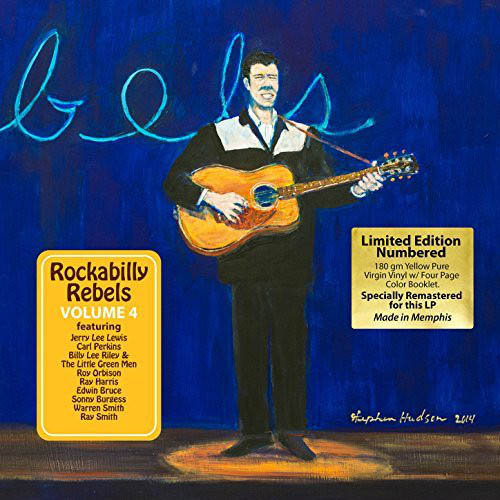 LP - Various Artists Rockabilly Rebels - Volume 4