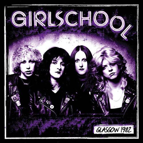 LP - Girlschool Glasgow 1982