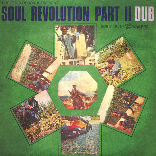 LP - Marley, Bob & The Wailers Soul Revolution Part II Dub