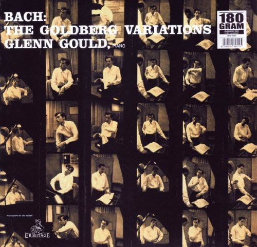 LP - Bach, Johann Sebastian payed by Glenn Gould The Goldberg Variations