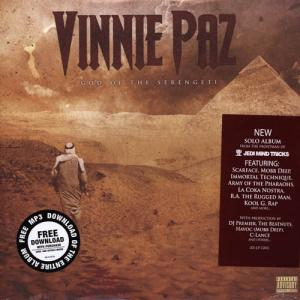 2LP - Vinnie Paz of Jedi Mind Tricks God Of The Serengeti