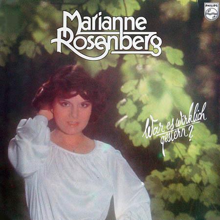 LP - Rosenberg, Marianne War Es Wirklich Gestern