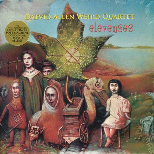 LP - Allen, Daevid Weird Quartet Fourth