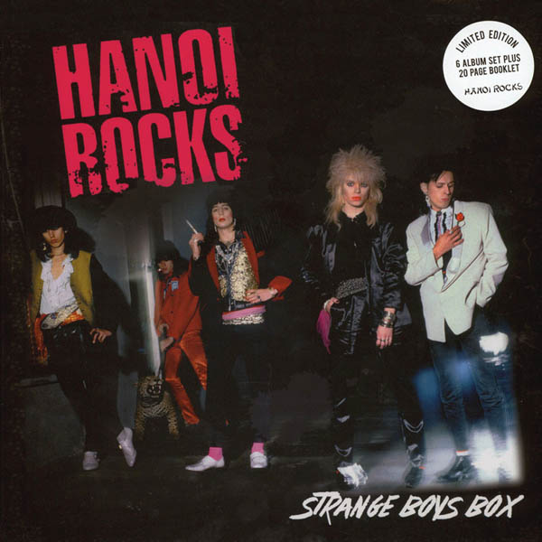 6LP - Hanoi Rocks Strange Boys Box