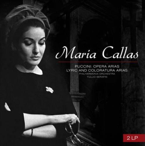 2LP - Callas, Maria & Tullio Serafin Philharmonia Orchestra Puccini: Opera Aria Lyric And Coloratura Arias