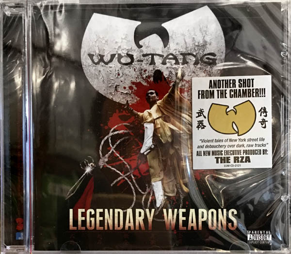 CD - Wu-Tang Clan Legendary Weapons