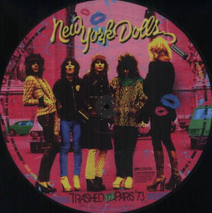 LP - New York Dolls Trashed In Paris