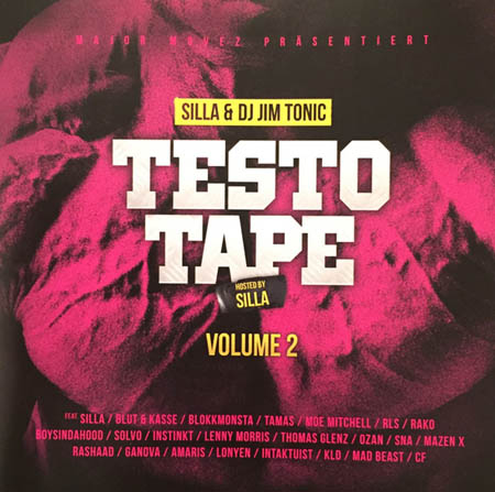 CD - Silla & Jim Tonic Testo Tape Volume 2