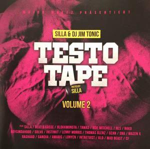 CD - Silla & Jim Tonic Testo Tape Volume 2